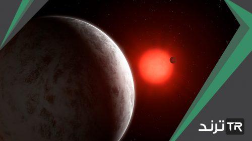 أي من الكواكب الخارجية الذي ليس له حلقات وصغير الحجم