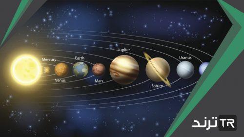 اكبر كواكب المجموعة الشمسية حجما، النظام الشمسي
