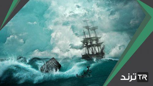 الاعصار البحري هو رياح عنيفة صواب ام خطا