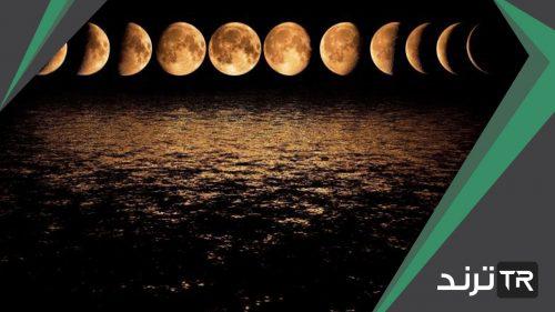 طور من أطوار القمر يحدث عندما تكون الأرض بين الشمس والقمر