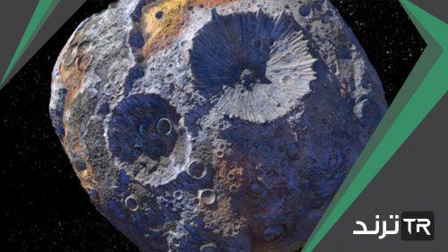 ماذا تسمى الكتل الصخرية التي نراها بين المريخ والمشتري