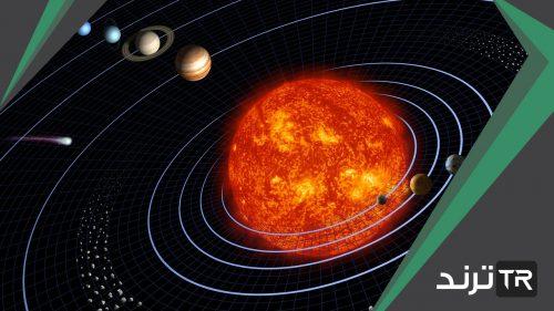يقيس قوة الجذب بين الجسم و كوكب مثل الأرض