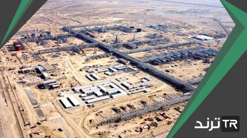 اكبر حقول النفط في اليابسة مساحه وانتاج في العالم هو