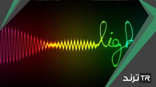 جزء من موجات الضوء المتباينة التي يمكن مشاهدتها بعد تحليله يسمى